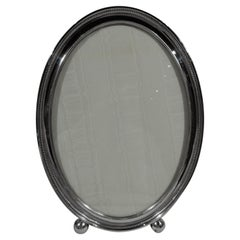 Large Gorham Oval Sterling Silver Picture Frame