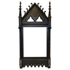Large Gothic Mirror or Painting Frame, California, circa 1900