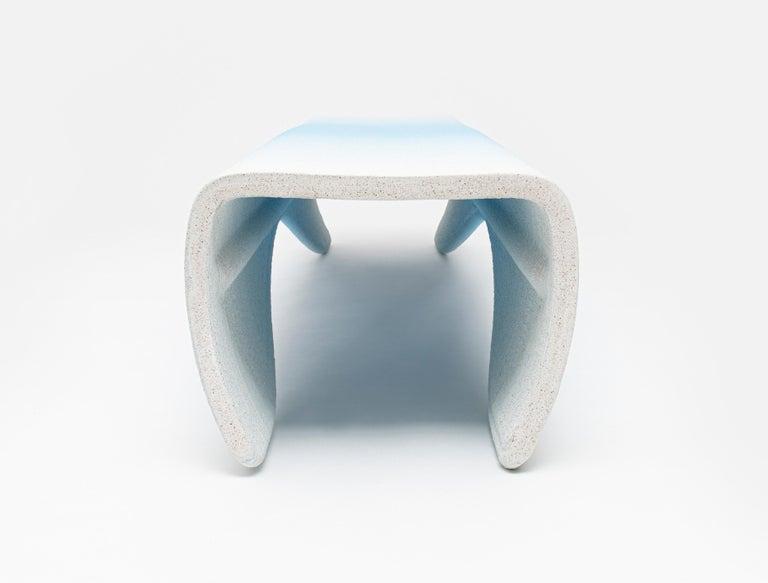 Austrian Large Gradient Bench by Philipp Aduatz For Sale