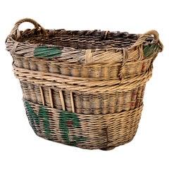 Large Grape Gathering Basket