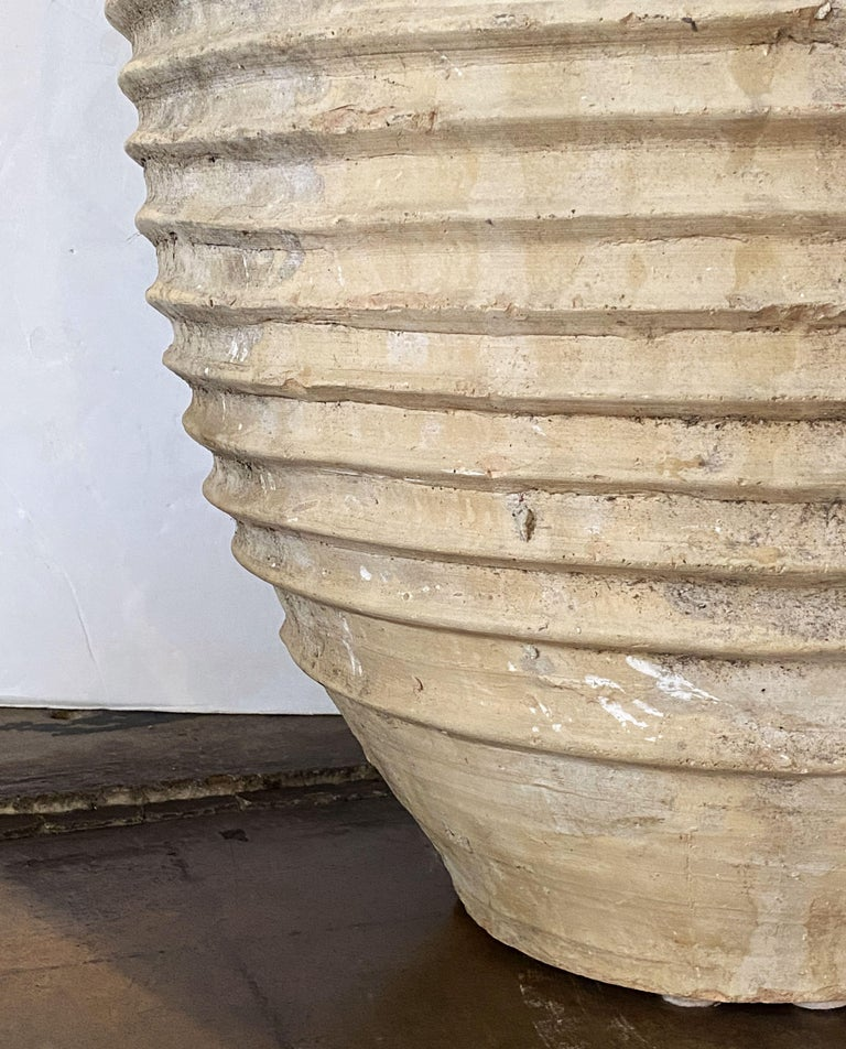 Large Greek Garden Urn or Oil Jar For Sale 6