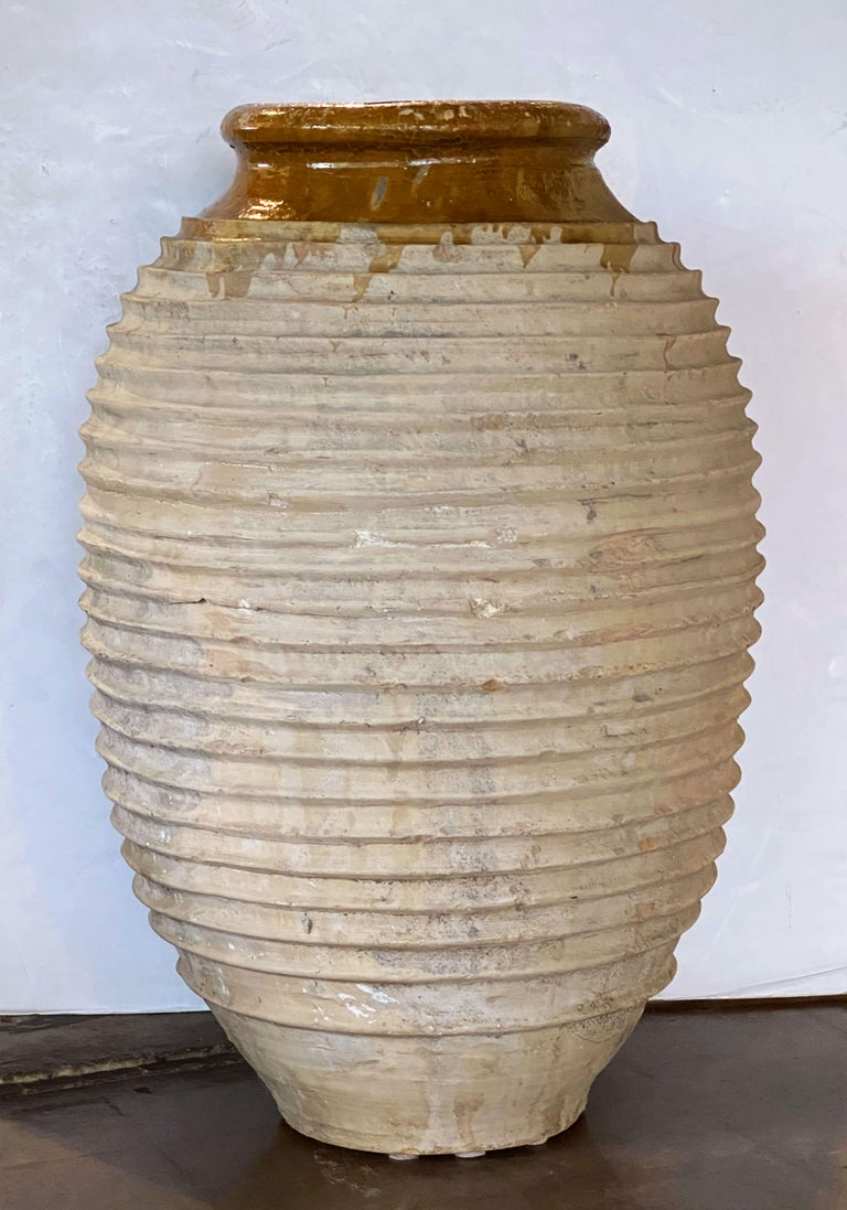 Large Greek Garden Urn or Oil Jar In Good Condition For Sale In Austin, TX