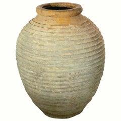 Large Greek Garden Urn or Oil Jar