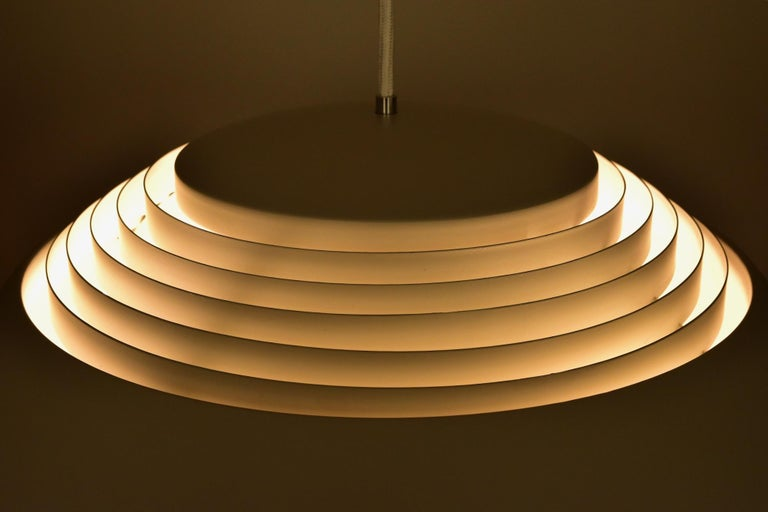 Large Grey Arne Jacobsen AJ Royal Pendant Lamp by Louis Poulsen 3