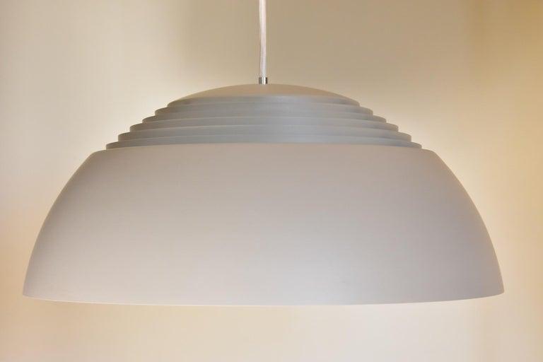 Large Grey Arne Jacobsen AJ Royal Pendant Lamp by Louis Poulsen 5