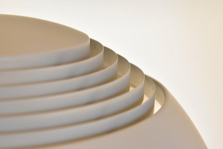 Danish Large Grey Arne Jacobsen AJ Royal Pendant Lamp by Louis Poulsen