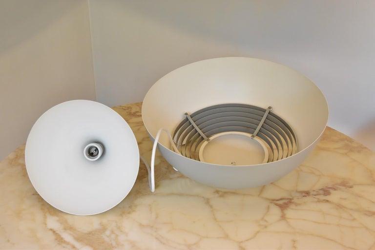 Large Grey Arne Jacobsen AJ Royal Pendant Lamp by Louis Poulsen In Good Condition In Krefeld, DE