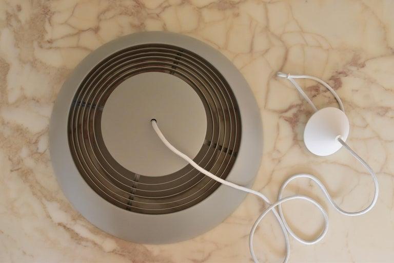 Metal Large Grey Arne Jacobsen AJ Royal Pendant Lamp by Louis Poulsen