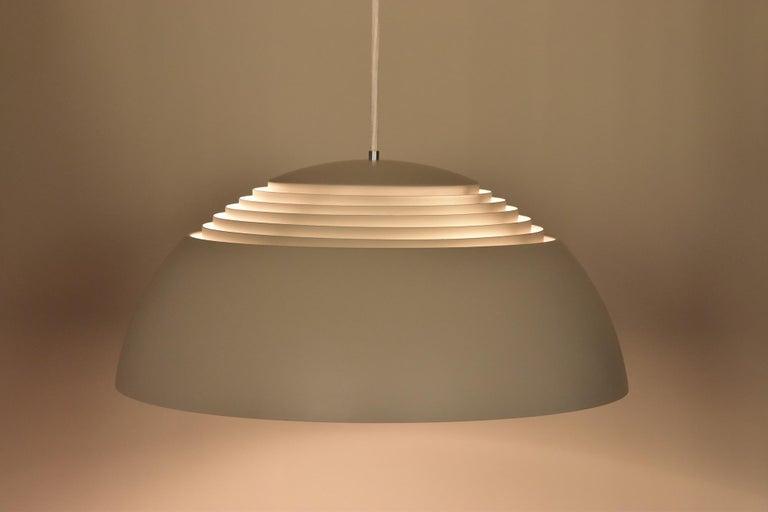 Large Grey Arne Jacobsen AJ Royal Pendant Lamp by Louis Poulsen 1