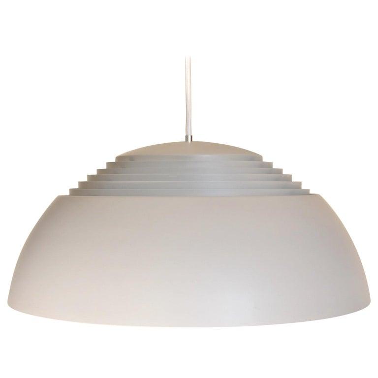 Large Grey Arne Jacobsen AJ Royal Pendant Lamp by Louis Poulsen