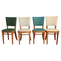 Large Group of  Mid Century Thonet Dining Cafe Chairs 46 pcs. available