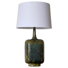 Large Guido Gambone Lamp, Italy