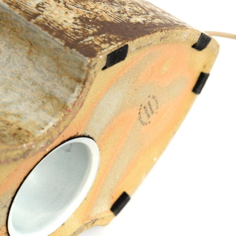 Large Haico Nitzsche Designed Ceramic Lamp for Søholm Pottery, Bornholm, Denmark For Sale 2