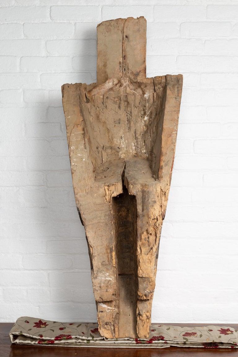 Large Hand Carved Singa Singa Tribal Carving from the Batak People, Sumatra For Sale 5