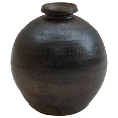 Large Hand Produced Studio Pottery Vase, 1970s