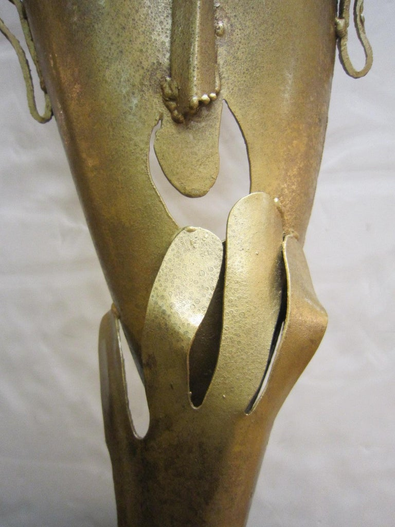 Large Handmade Steel Sculpture