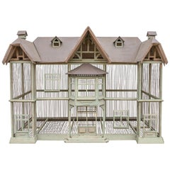 """Large Handmade Vintage French Dove Cote Bird Cage """"With a Story"""""""