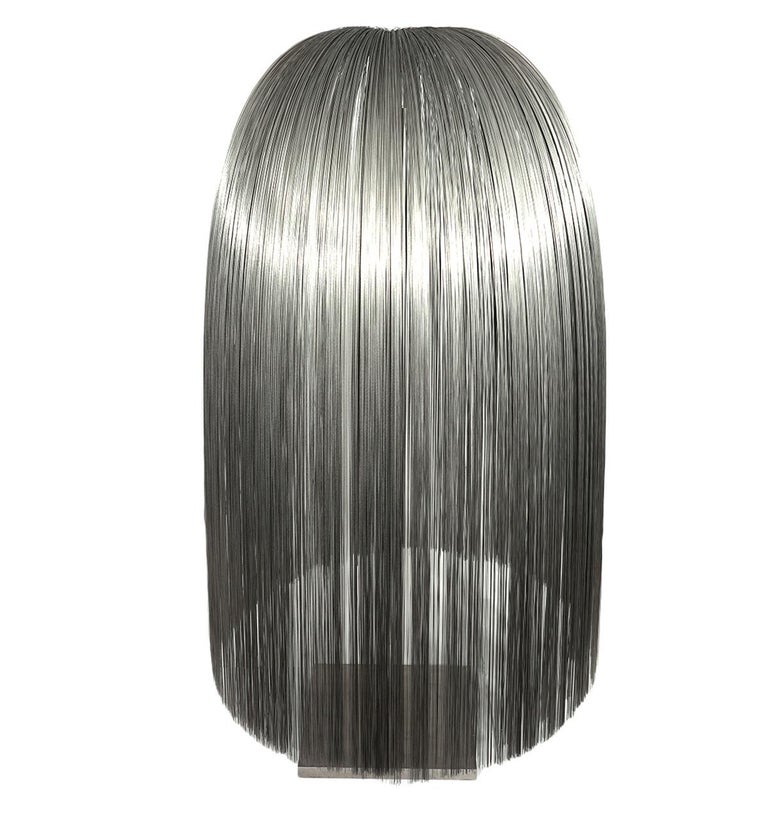 American Large Harry Bertoia Stainless Steel 'Willow' Sculpture  For Sale