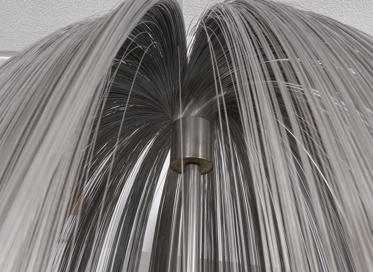 Large Harry Bertoia Stainless Steel 'Willow' Sculpture  In Excellent Condition For Sale In Ft. Lauderdale, FL