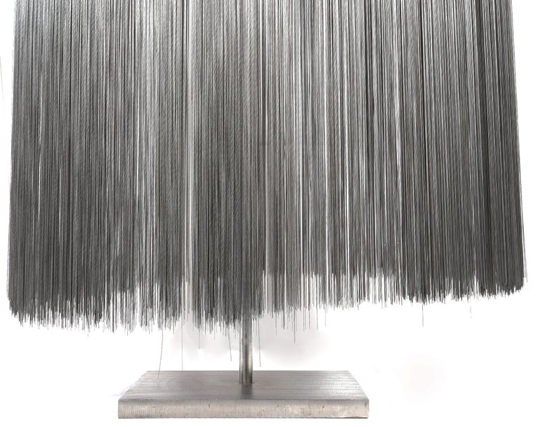 Large Harry Bertoia Stainless Steel 'Willow' Sculpture  For Sale 1