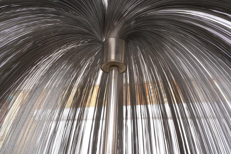 Large Harry Bertoia Stainless Steel 'Willow' Sculpture  For Sale 2