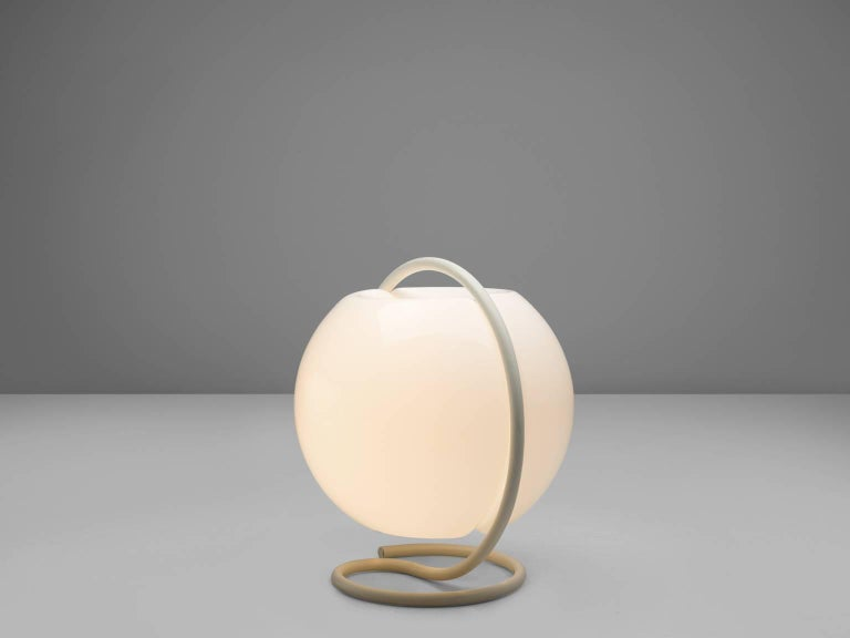 Mid-Century Modern Large High Elio Martinelli for Martinelli Luce Floor Lamp, 1968 For Sale