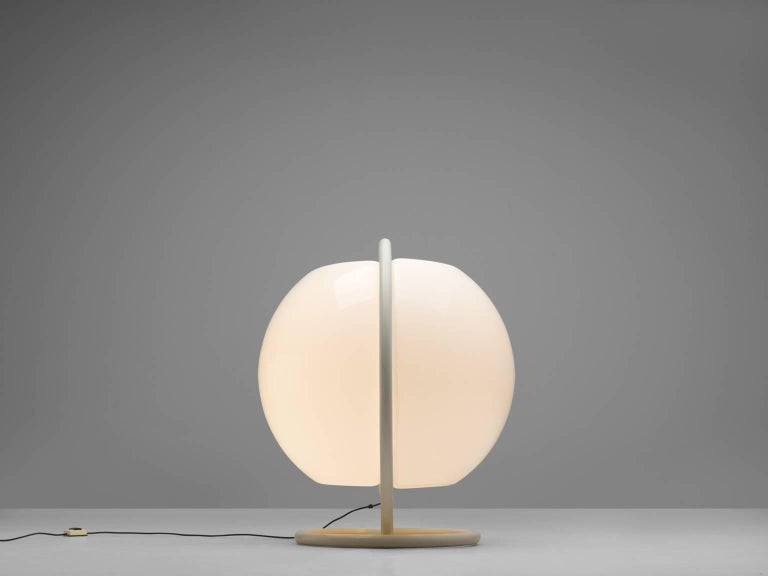 Large High Elio Martinelli for Martinelli Luce Floor Lamp, 1968 In Good Condition For Sale In Waalwijk, NL