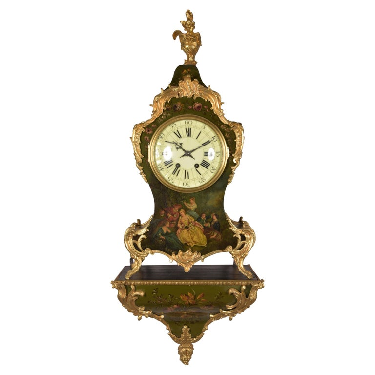 Large High Quality French Gilt Bronze Empire Pendulum with Apollo, circa 1830 For Sale