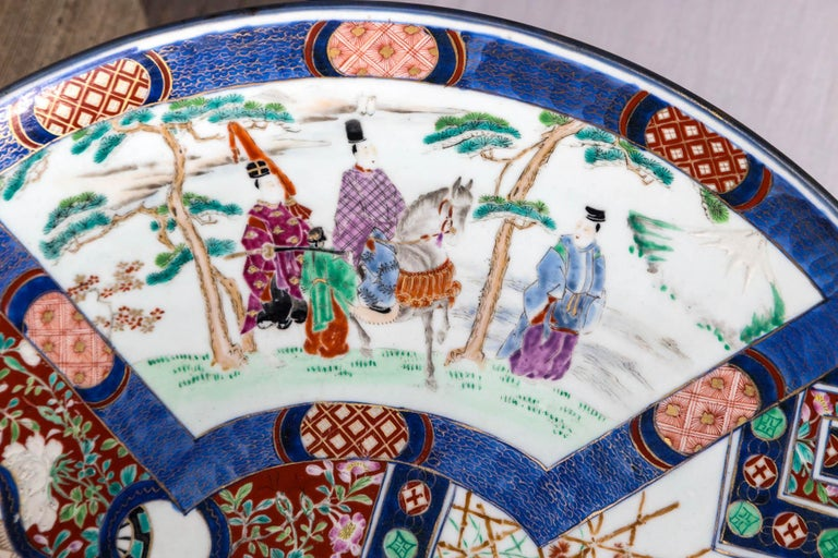 Contemporary Large Imari Style Charger For Sale