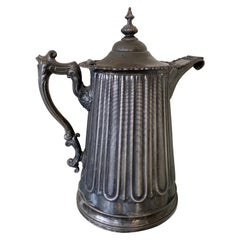 Large Impressive Antique Water Pitcher