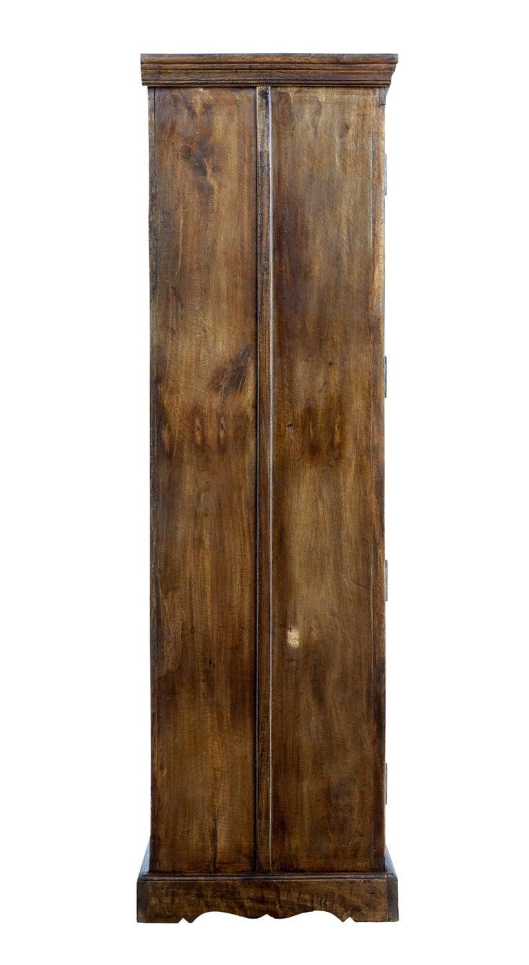 Indian Large impressive hardwood wardrobe For Sale