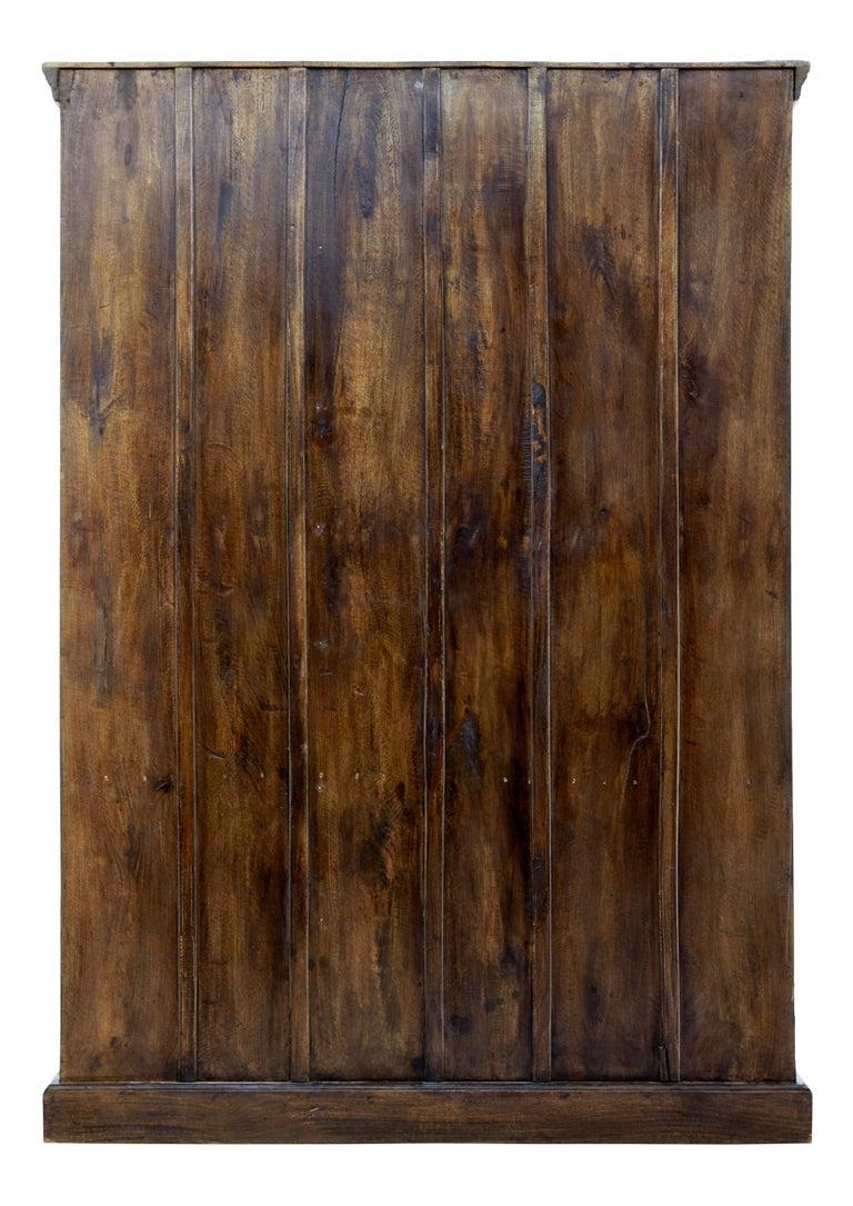 Woodwork Large impressive hardwood wardrobe For Sale