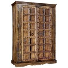 Large impressive hardwood wardrobe