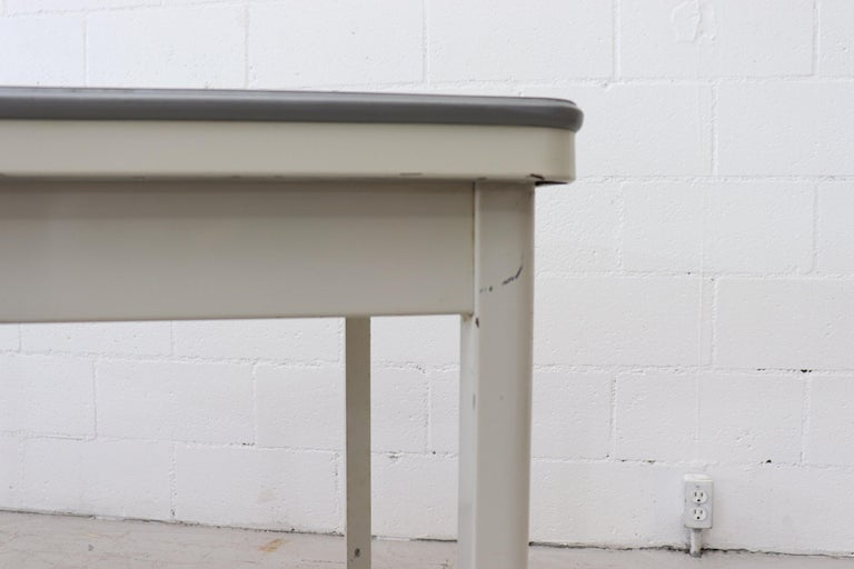 Large Industrial Ahrend de Cirkel Dining or Conference Table For Sale 3