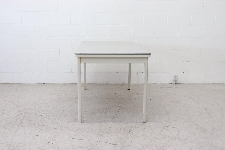 Dutch Large Industrial Ahrend de Cirkel Dining or Conference Table For Sale