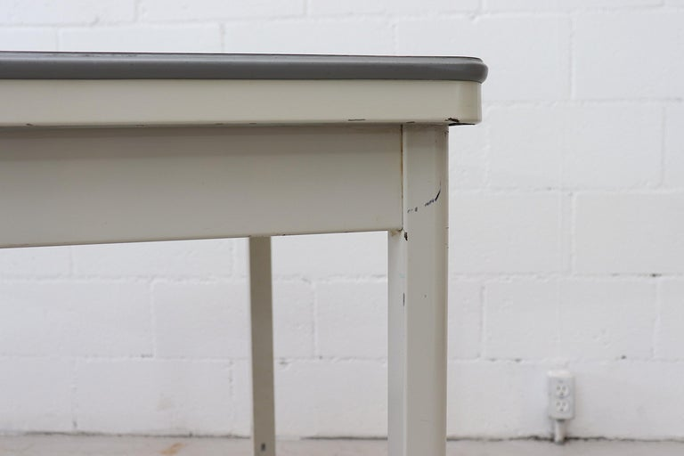 Late 20th Century Large Industrial Ahrend de Cirkel Dining or Conference Table For Sale