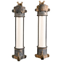 Large Industrial Bronze and Glass Fuses