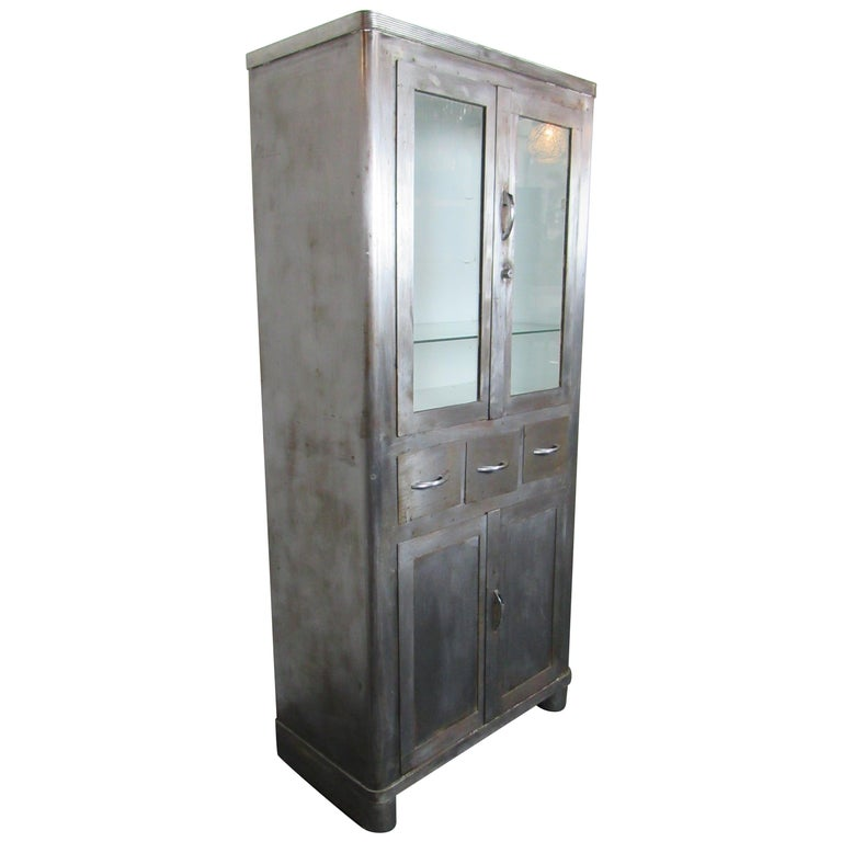 Large Industrial Doctors Cabinet For Sale