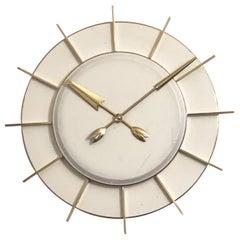 Large Industrial Factory or Station Clock by TN Telefonbau Und Normalzeit