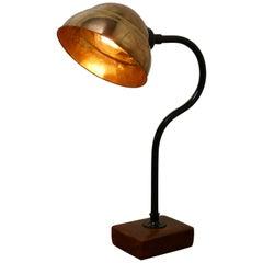 Large Industrial Look Desk Lamp