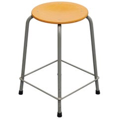 Large Industrial Stool Set by Ahrend de Cirkel, Holland, 1970