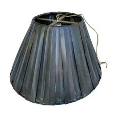Large Industrial Vintage Copper Pendant In Shape Of A Lamp Shade