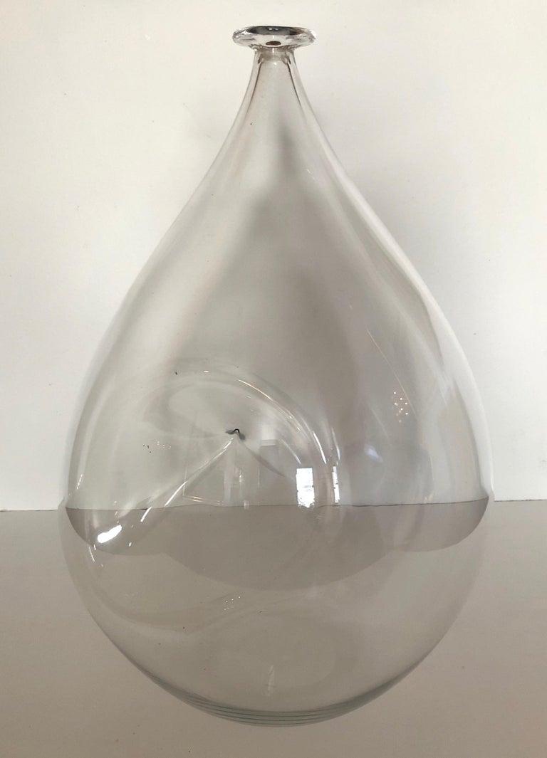 Swedish Large Ingeborg Lundin Expo Vase for Orrefors For Sale