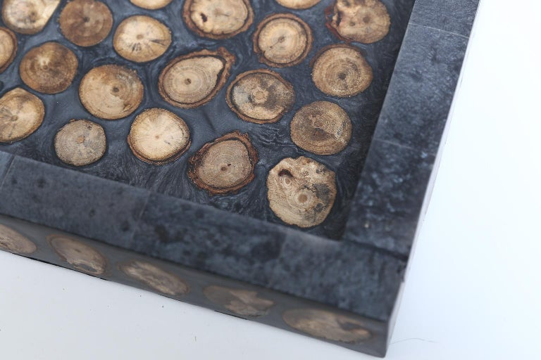 Contemporary Large Inlay Tray For Sale