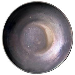 Large Iridescent Pewabic Ceramic Centerpiece Bowl