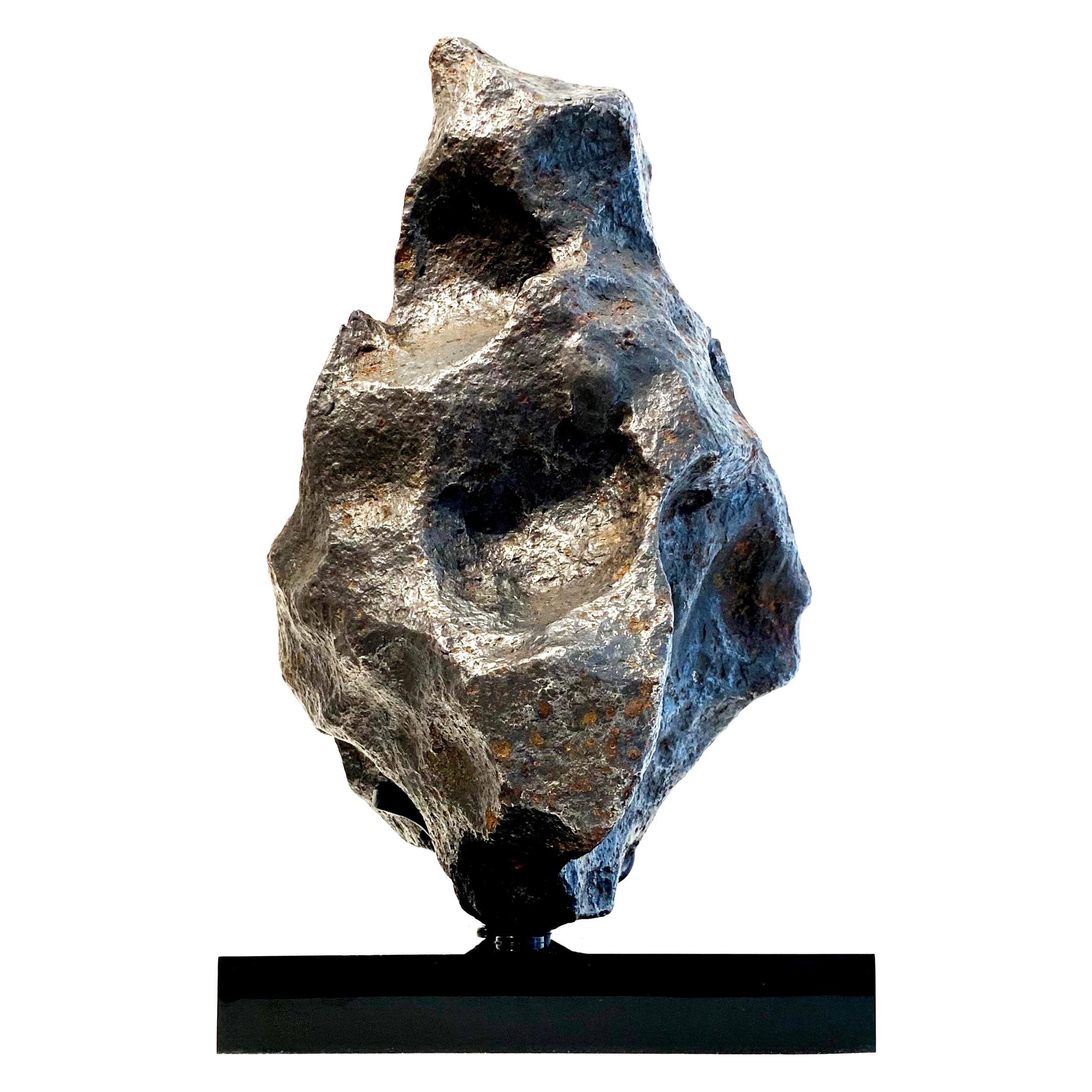 Large Iron Meteorite Sculpture
