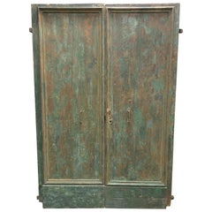 Large Italian 18th Century Double Front Doors