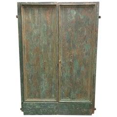 Large Italian 18th Century Double Front Doors