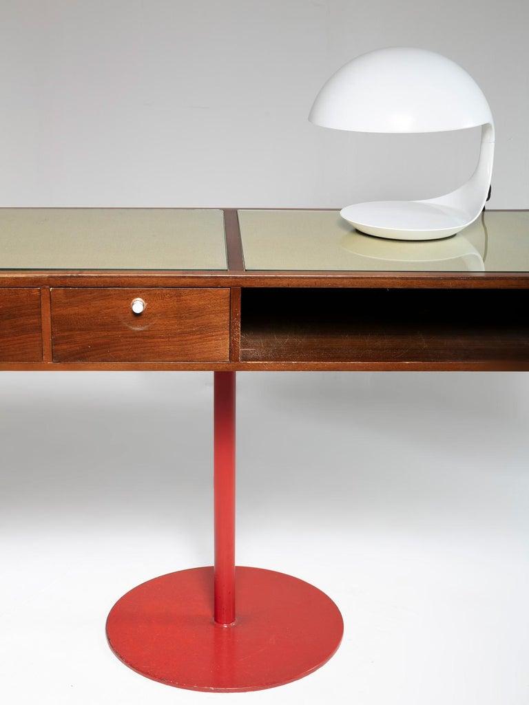 Large Italian 1960s Wood Counter 5
