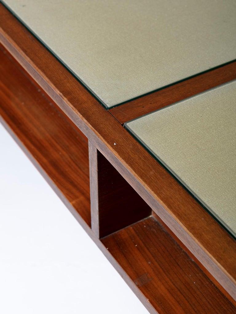 Large Italian 1960s Wood Counter 1